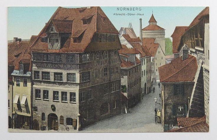 Vintage Postcard Albrecht Durer Haus Nurnberg Nuremberg Germany Dr Trenkler Co