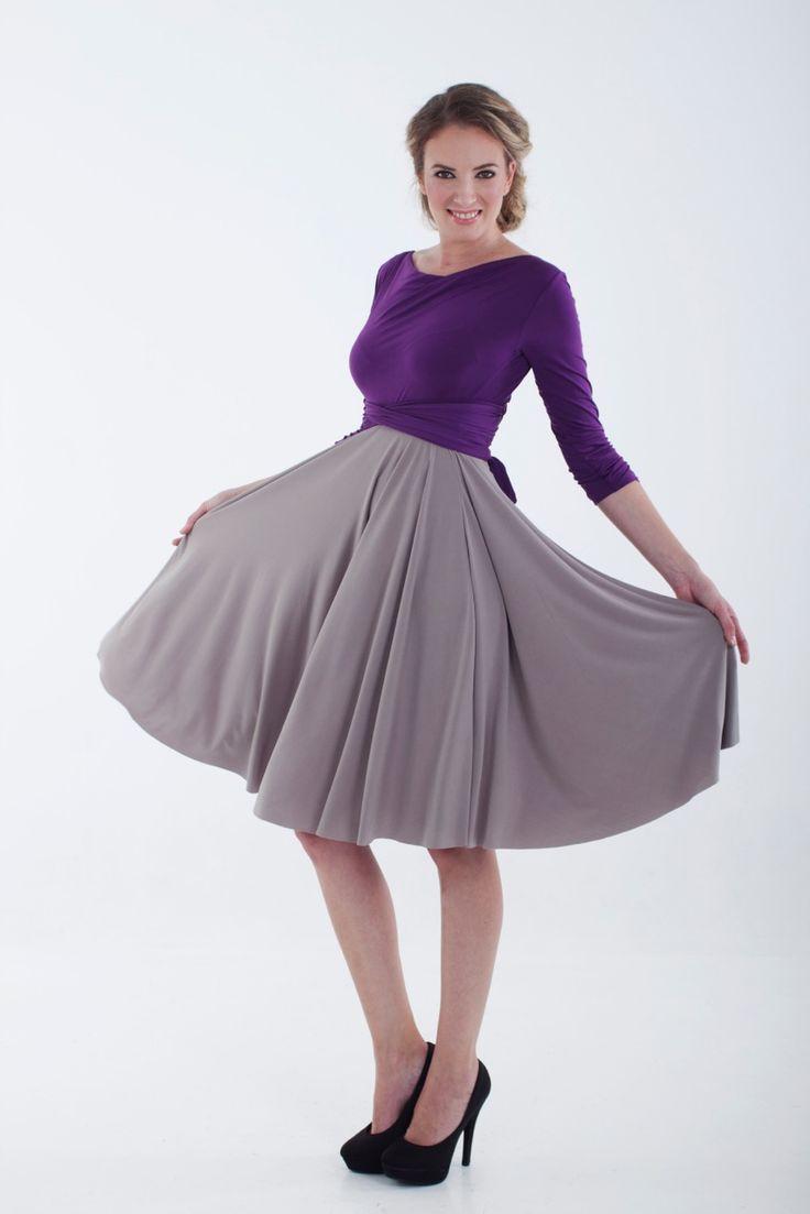 Two Tone Infinity Wrap Dress  R699.00  http://infinity-dress.co.za/Winter-Wrap-Dress-South-Africa/Winter-Wrap-Dress-Twotone