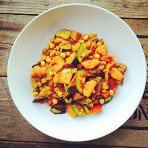Super gezond ratatouille recept. Inspiratie voor vleesvrije dagen of koolhydraatvrije dagen. De beste kruiden en groenten bij elkaar. Lekker een gezond recept voor ratatouille
