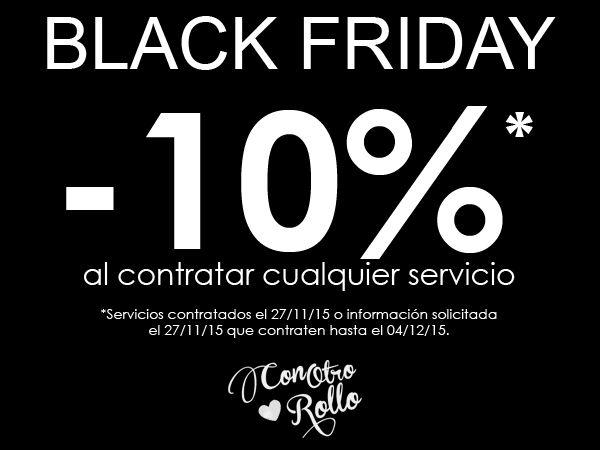 Black Friday en Con Otro Rollo