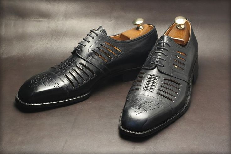 Best Looking Navy Color Leather Shoe For Men