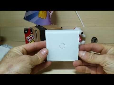 Светодиодный наконечник на кран, Сенсорные выключатели LIVOLO.
