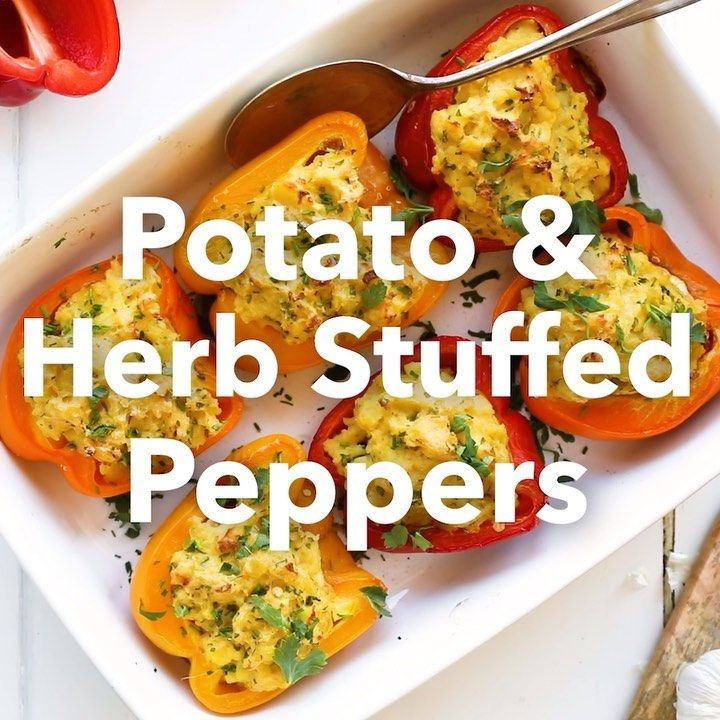 "Medical Medium® on Instagram: ""POTATO & HERB STUFFED PEPPERS A ..."