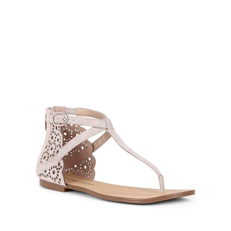 "Sole Society ""Teresa"" lace sandal"