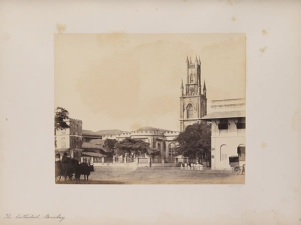 The Cathedral, 1855-1862 - Old And Vintage Photographs Of Mumbai Bombay  Page 2 of 2  Best of Web Shrine
