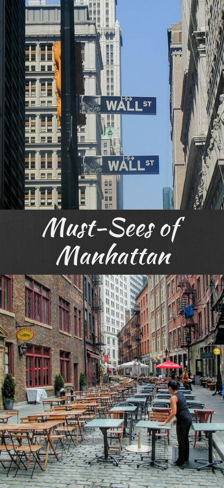 Best 25 manhattan new york ideas on pinterest new york for New york city must do list