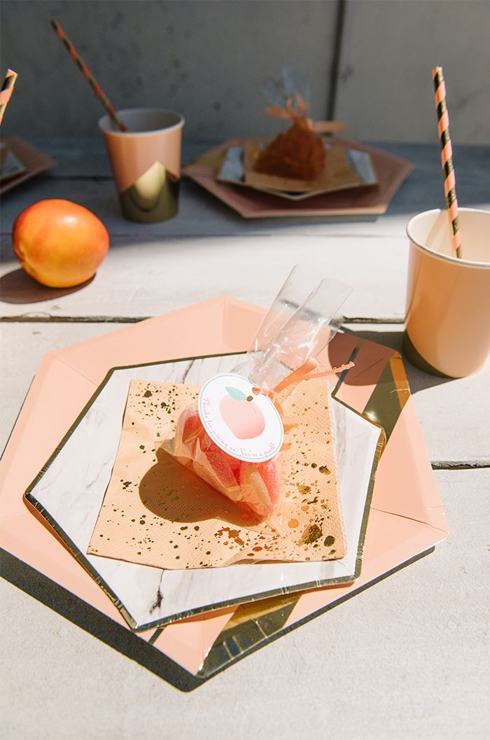 This Peach-Themed First Birthday Party Is an Adorable Must-See via @MyDomaineAU