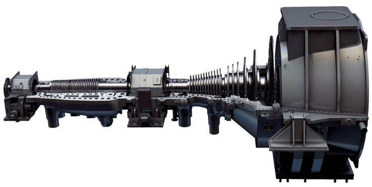 Turbine à vapeur / à cycle combiné / pour application d'entraînement mécanique / mono-arbre 2400 psi, 1112 °F | A450, A650 GE Steam Turbines