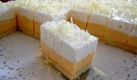 Koláčik Ľadové nebo! Neuveriteľne ľahký, jemný a lahodný koláč, ktorý si obľúbite.