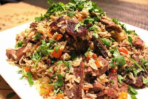 Weekend Recipe: Samarkand Rice Pilaf with Lamb
