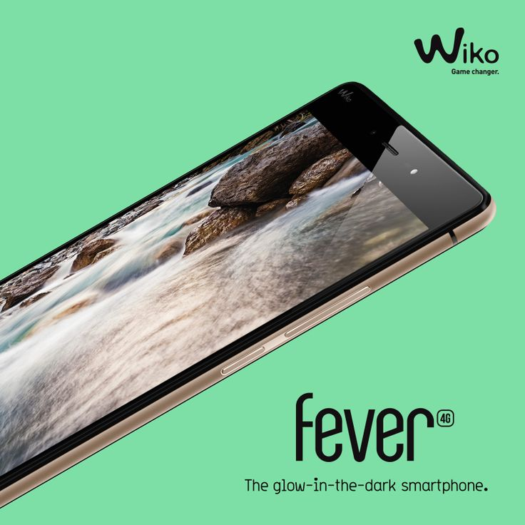 FEVER - The Glow In The Dark Smartphone - RDV sur www.wikomobile.com