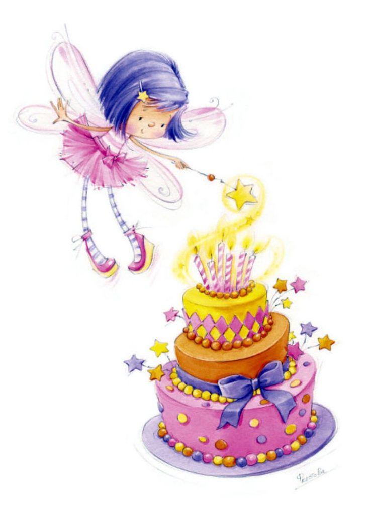 разных картинка фея с днем рождения собой представляет фацет
