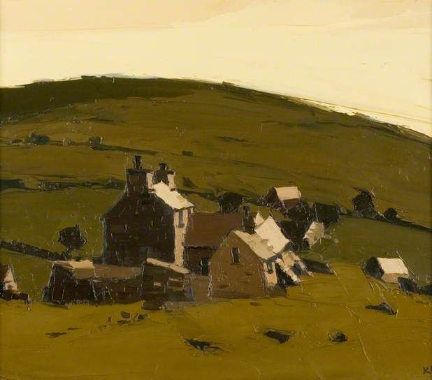 Deserted Farm, Llanrhuddlad - Kyffin Williams