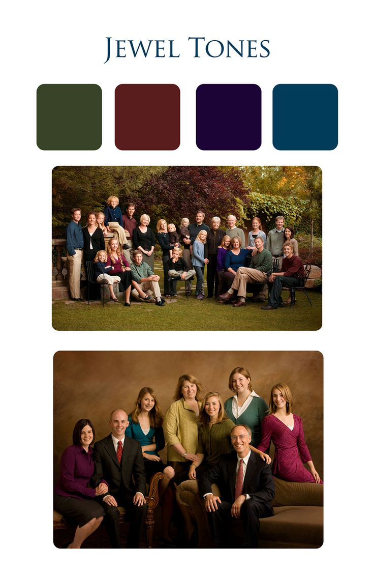 106 best color combos for group pics images on pinterest - What are jewel tones ...