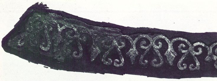 """""""Extant Viking era embroidery from the book Viking Artefaks"""""""