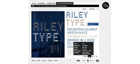 """Récompense """"Sélection livre"""" pour la police de caractères """"Riley Type"""" pour Hubert Munier, professeur à l'école intuit.lab"""
