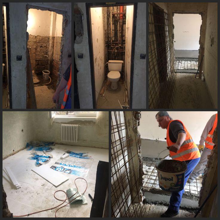 Momentálne pracujeme na rekonštrukcií bytu v Bratislave #firmabeles #rekonstrukcia #brtaislava #staviame #pracujeme #novybyt