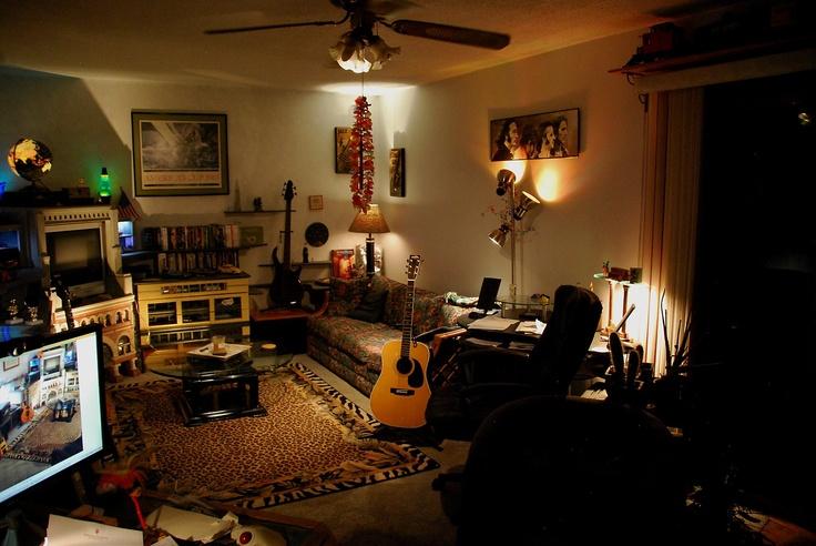 Creative Lighting In Guitar Room Music Rooms Pinterest