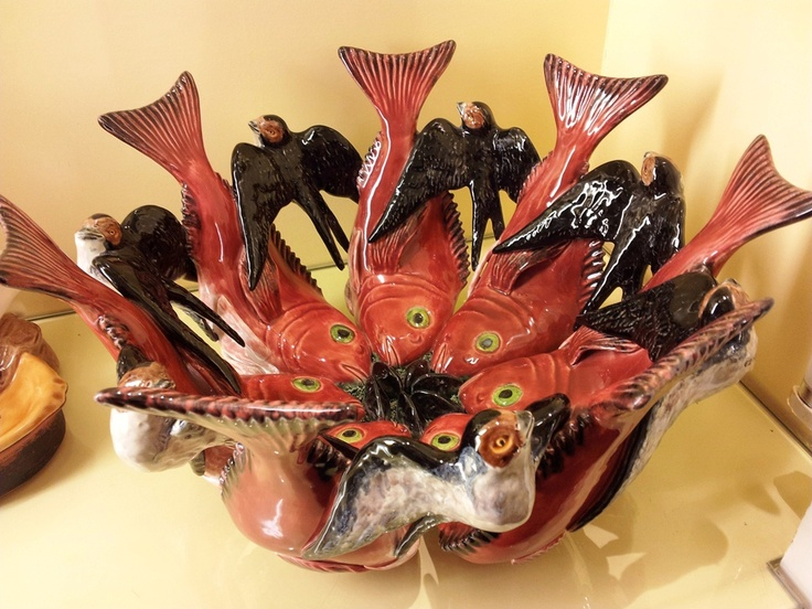 Vista Alegre porcelain bowl designed by Portuguese artist Joana Vasconcelos.  Via Portugal Confidential  #Portugall