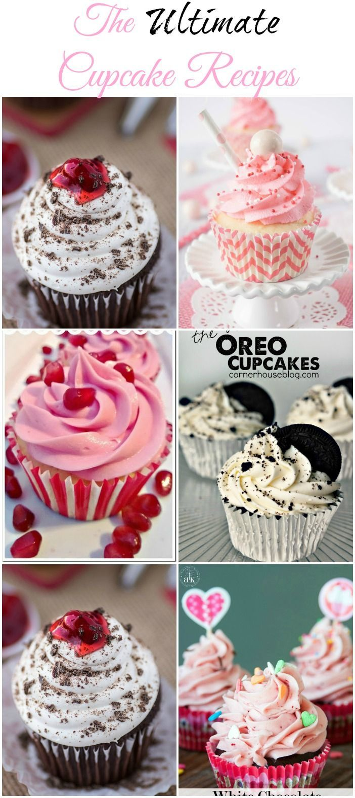 The Ultimate Cupcake Recipes collected by The NY Melrose Family