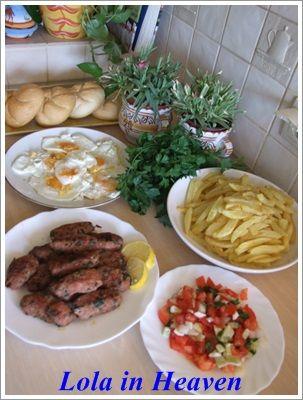 Tunezyjska kofta z domowymi frytkami