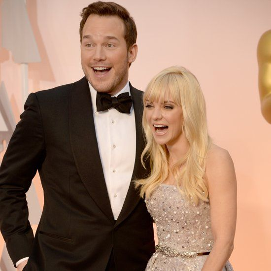 Pin for Later: Chris Pratt and Anna Faris Got Goofy at the Oscars