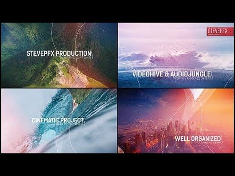 Parallax Wave Slideshow Videohive After Effects Templates