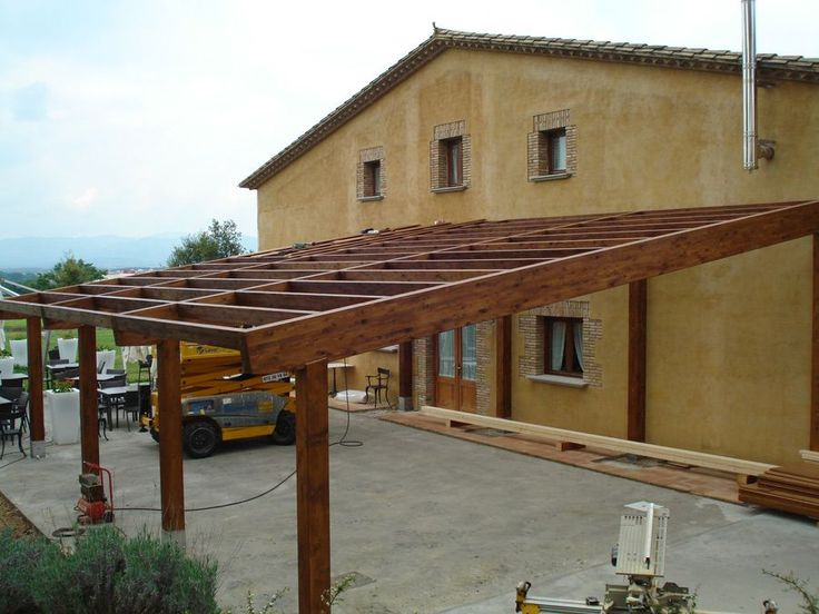 Image result for pergolas en madera y policarbonato
