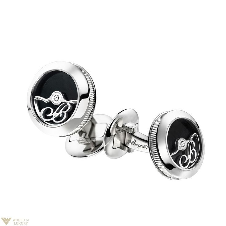 Laconic, but very stylish design of Breguet men's cufflinks will not leave you indifferent. Discover more and shop here: http://bit.ly/1T4BhsJ