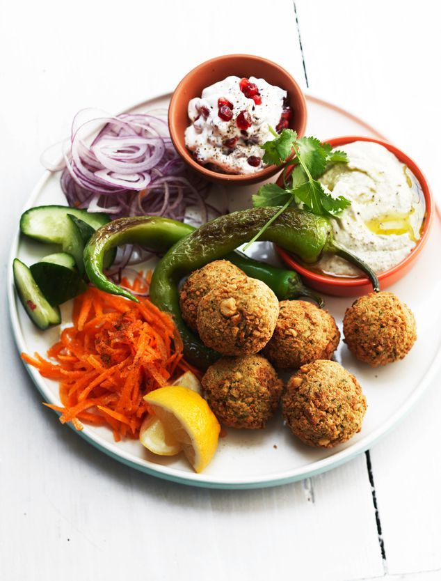 home made falafel met baba ghanoush | ZTRDG magazine
