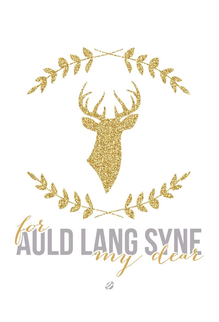 #LostBumblebee 2013 - For Auld Lang Syne - #NewYear- Free Printable
