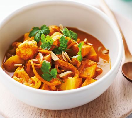 Cauliflower Madras Curry by Michelle Bridges