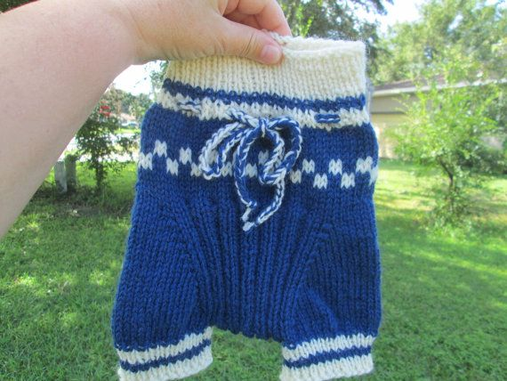 NB to Small Handknit Wool Diaper Cover Soaker by Ritaknitsall