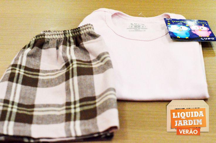Pijama Infantil com 50%.  Loja: Lupo