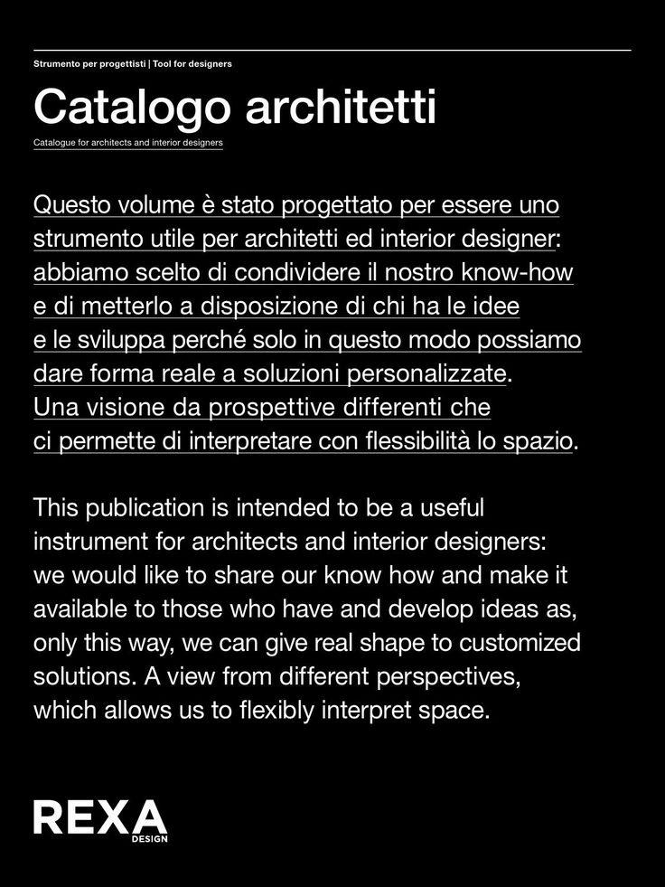 RexaDesign - catalogo architetti