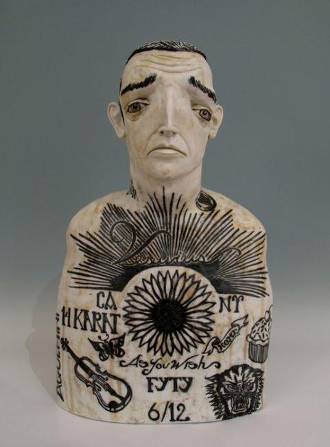 HAND/EYE loves the expressive, thoughtful sculptures of Derek Weisberg http://www.handeyemagazine.com/content/clays-forgiveness