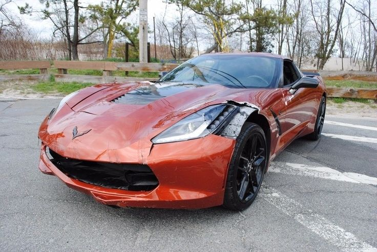 Light damage 2015 Chevrolet Corvette Stingray Z51 repairable