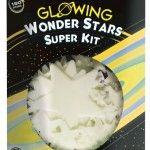 Win deze Glowing Wonder Stars Super kit University Games recensie review glow-in-the-dark sterren planeten slaapkamer licht uit 150 delig doven langzaam schitterend lichtschijnsel muur plafond sterrenhemel winactie winnen