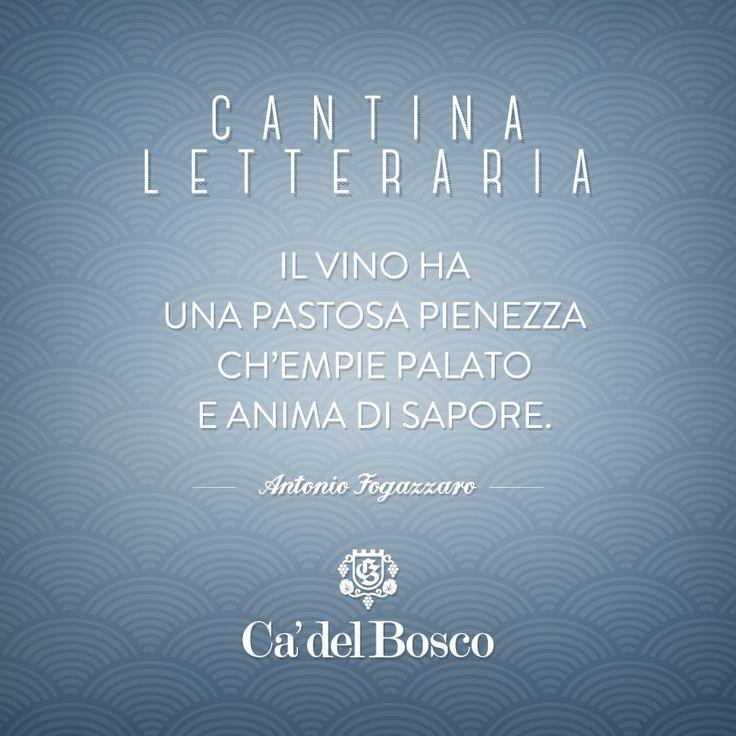 Il mistero del poeta non nasconde la sua passione per il vino #enjoycadelbosco