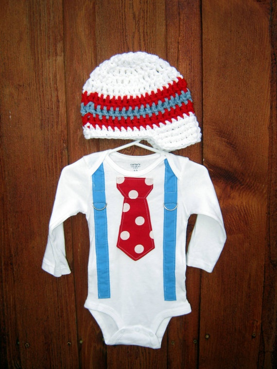 Get The Set  Red White and Blue Boys Tie Onesie by shopantsypants, $34.00Boys Ties, Blue Boys, Sets Red, Baby Fun, Parties Ideas, Ties Onesies, Red White, Mommy Stuff