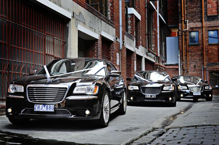 Black Wedding Cars - Chrysler 300  Enrik limousines  Black beauty limousines  Con Tsioukis of Alex Pavlou Photography