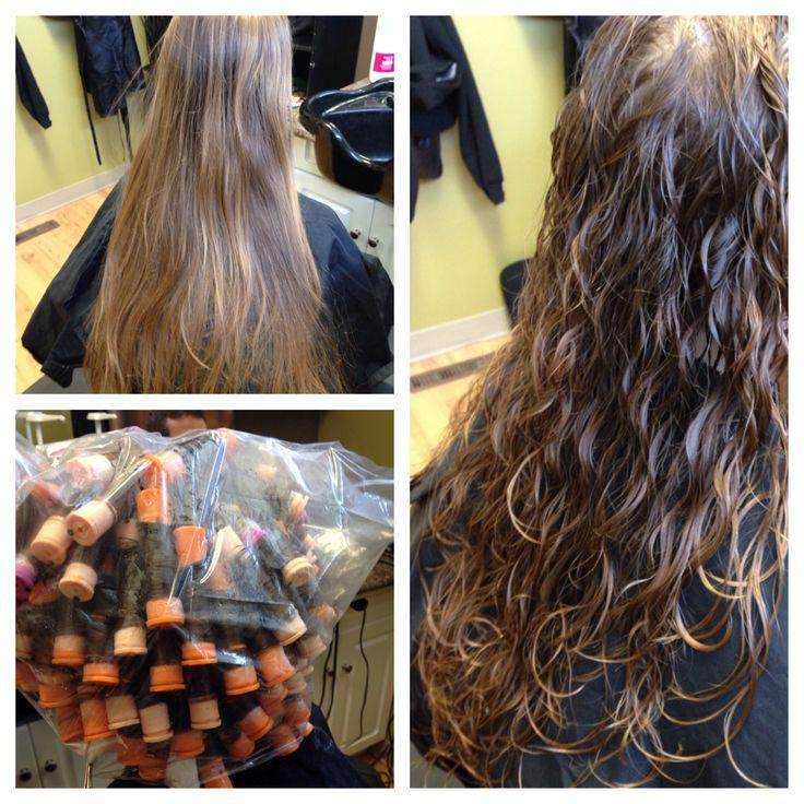 128 best perm images on pinterest hairdos hair dos and beleza spiral perm for beach wave hair orange beige n purple rods dani solutioingenieria Choice Image
