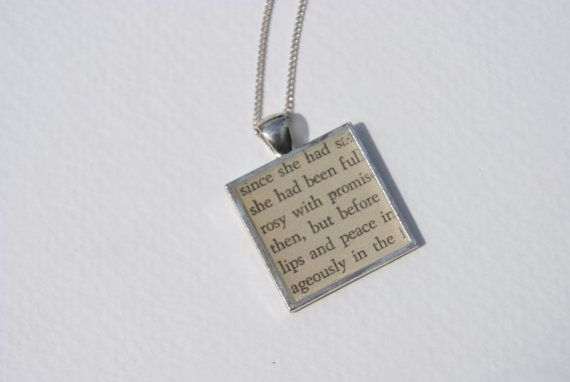 Love this: Anne of Green Gables Book Page Necklace by gennahuffman | Etsy