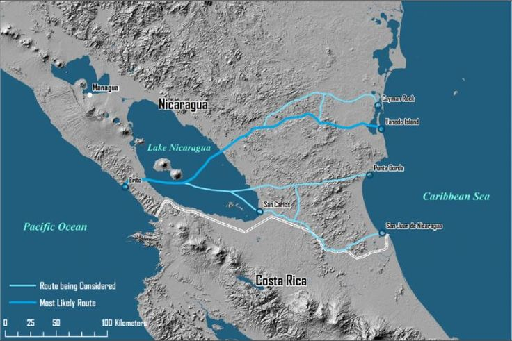 Environmental Study Highlights 'Risks and Uncertainties' of Nicaragua canal