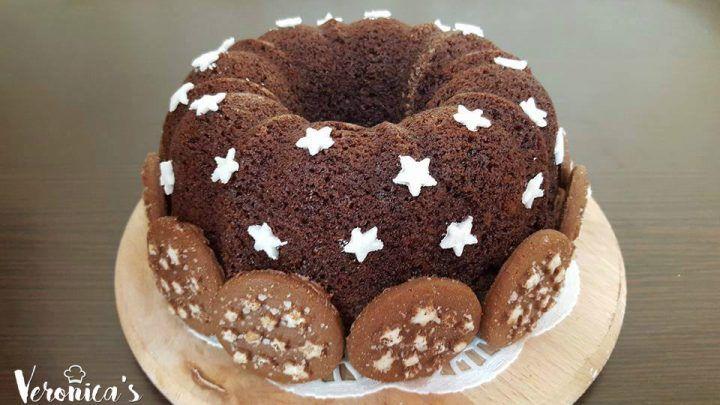Ciambella Pan di stelle e nutella, da realizzare con e senza bimby