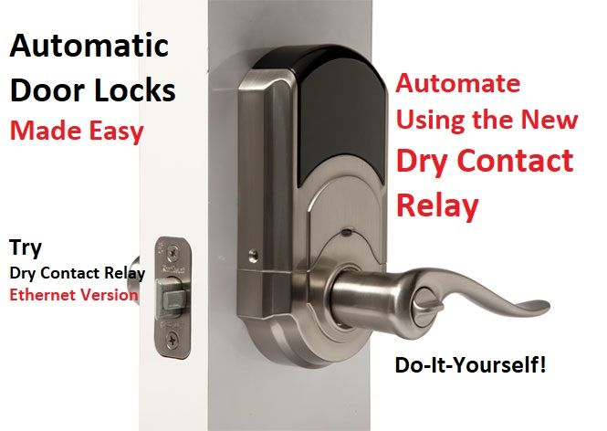 Automatic Door Locks Relay Automation Home Automation