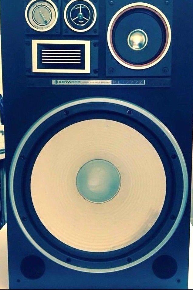 Vintage Kenwood 4 Way Floor Speaker KL-777Z #Kenwood