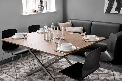 Adjustable tables from BoConcept, furniture for small living and urban living