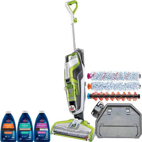 Vacuum and wash your floors at the same time!