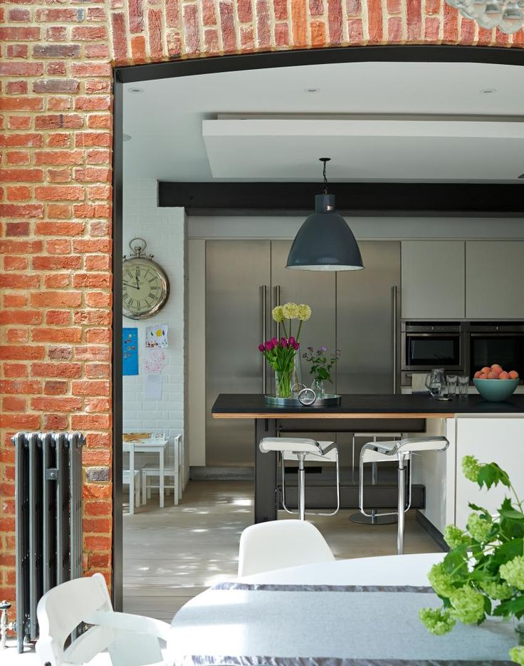 Open Plan Kitchen Diner with Archway